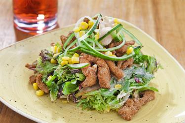 Çıtır Tavuk Salata